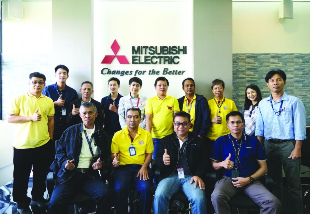 AEROTHAI visited and trained at Mitsubishi Training Center