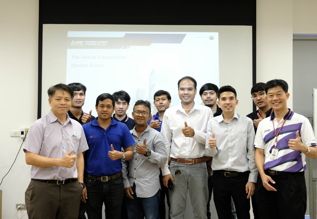 De Promise visited and trained at Mitsubishi Training Center