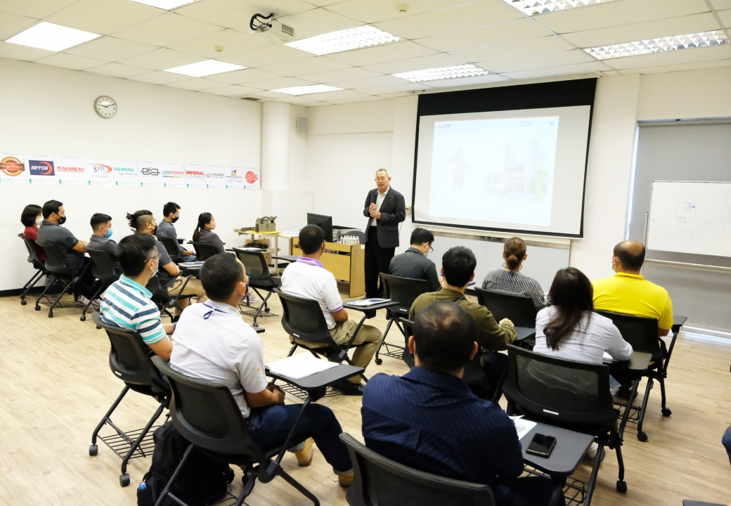 Mitsubishi Elevator and The Building Inspectors Association provide training and knowledge testing according to the