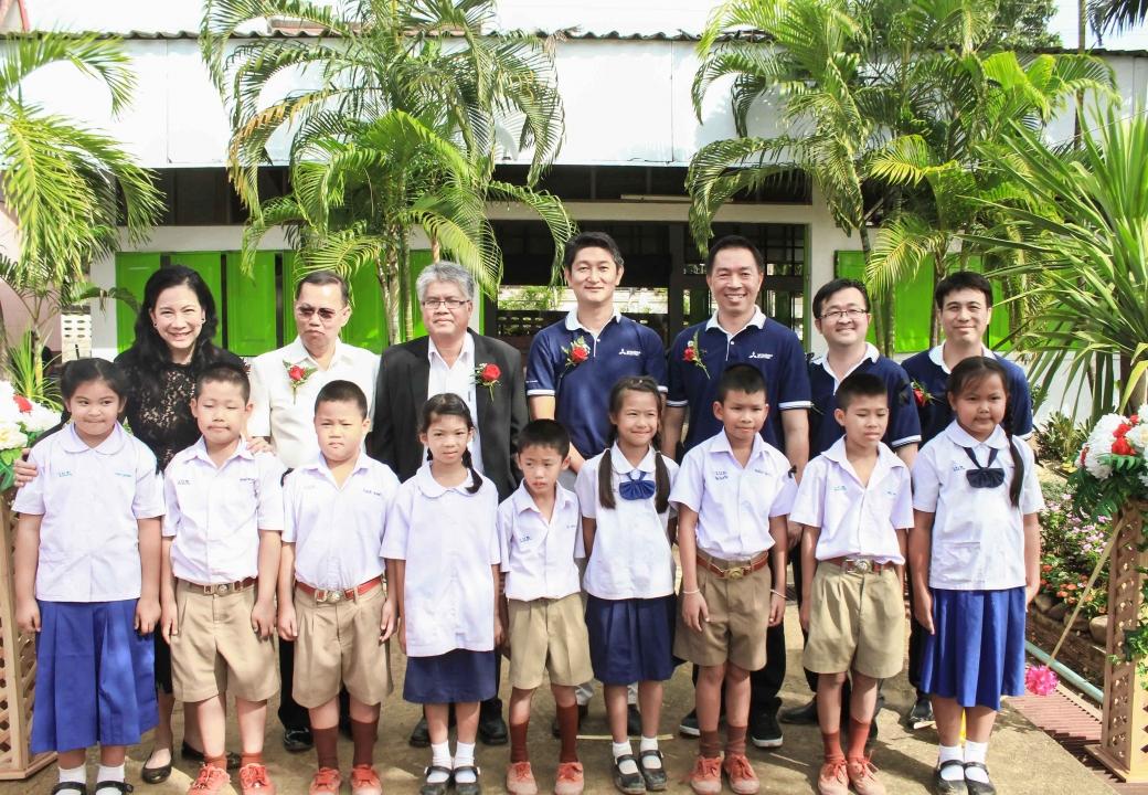 MET CSR activity - Hometown School Development