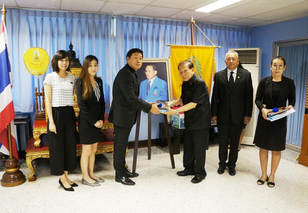Mitsubishi Elevator (Thailand) donate to Ratprachanukhro Foundation