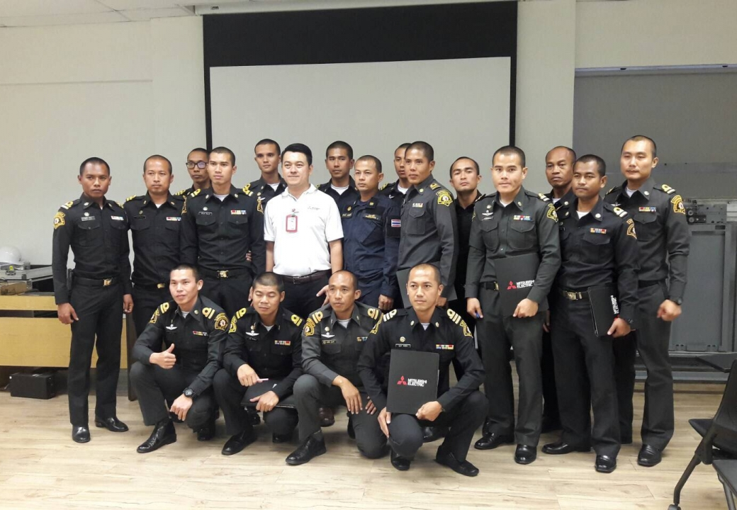 Training Center welcomed The Dapartment of Disaster Prevention and Mitigation for a safety training course