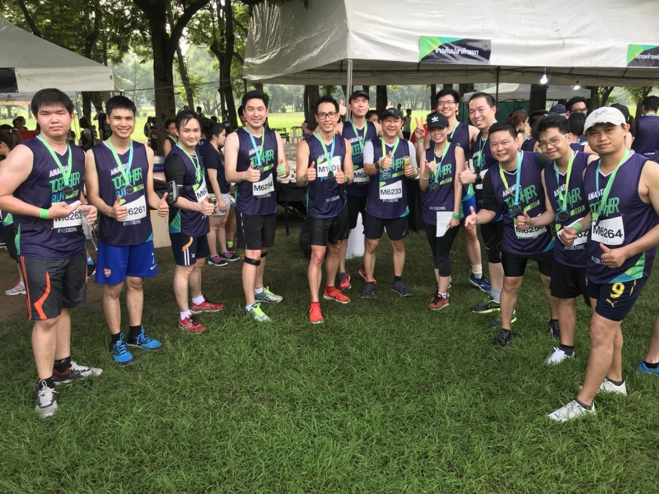 Mitsubishi Elevator joined Ananda 2gether Run