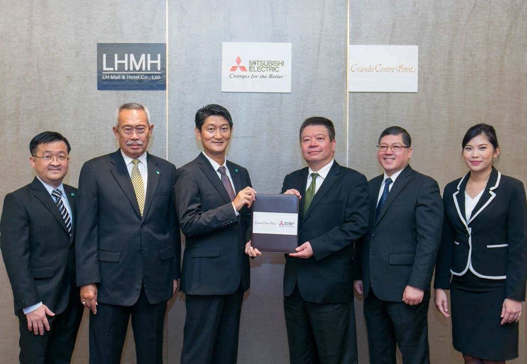 MOU Signing Ceremony with LHMH (Grande Centre Point Sukhumvit 55)