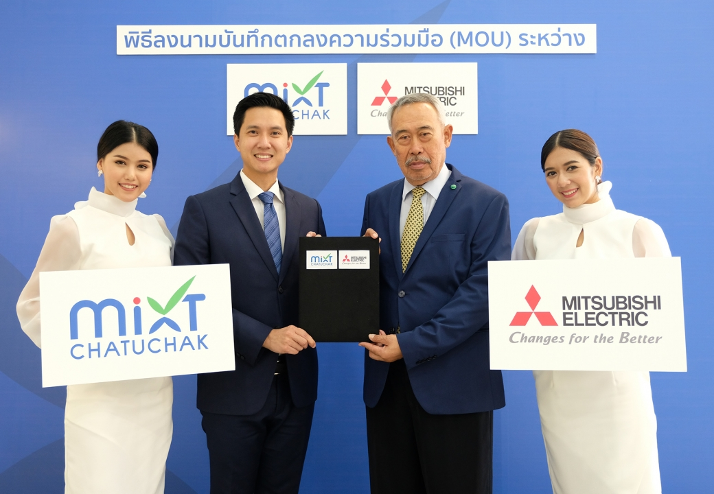 MOU Signing Ceremony with Mixt Chatuchak