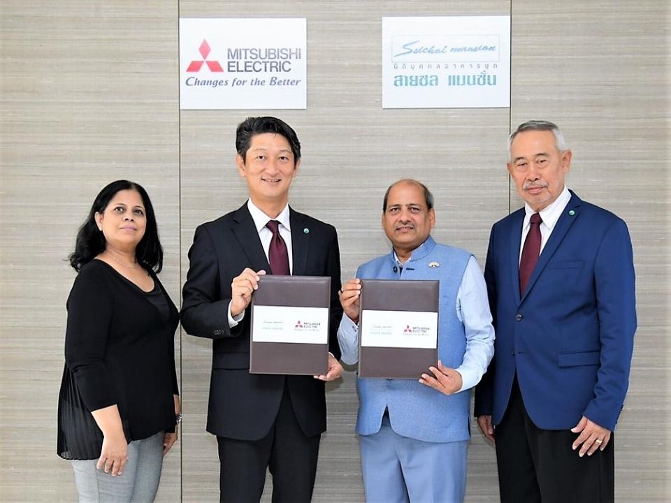 MOU Signing Ceremony with Saichol Mansion Condominium