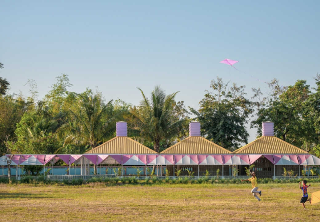 Hometown School Project  is the Finalist in FAD Architecture Awards in Spain