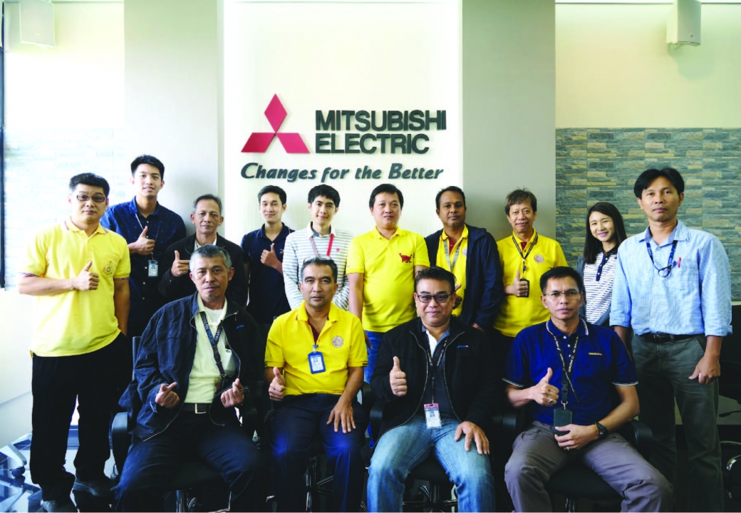 AEROTHAI visited and trained at Mitsubishi Training Center