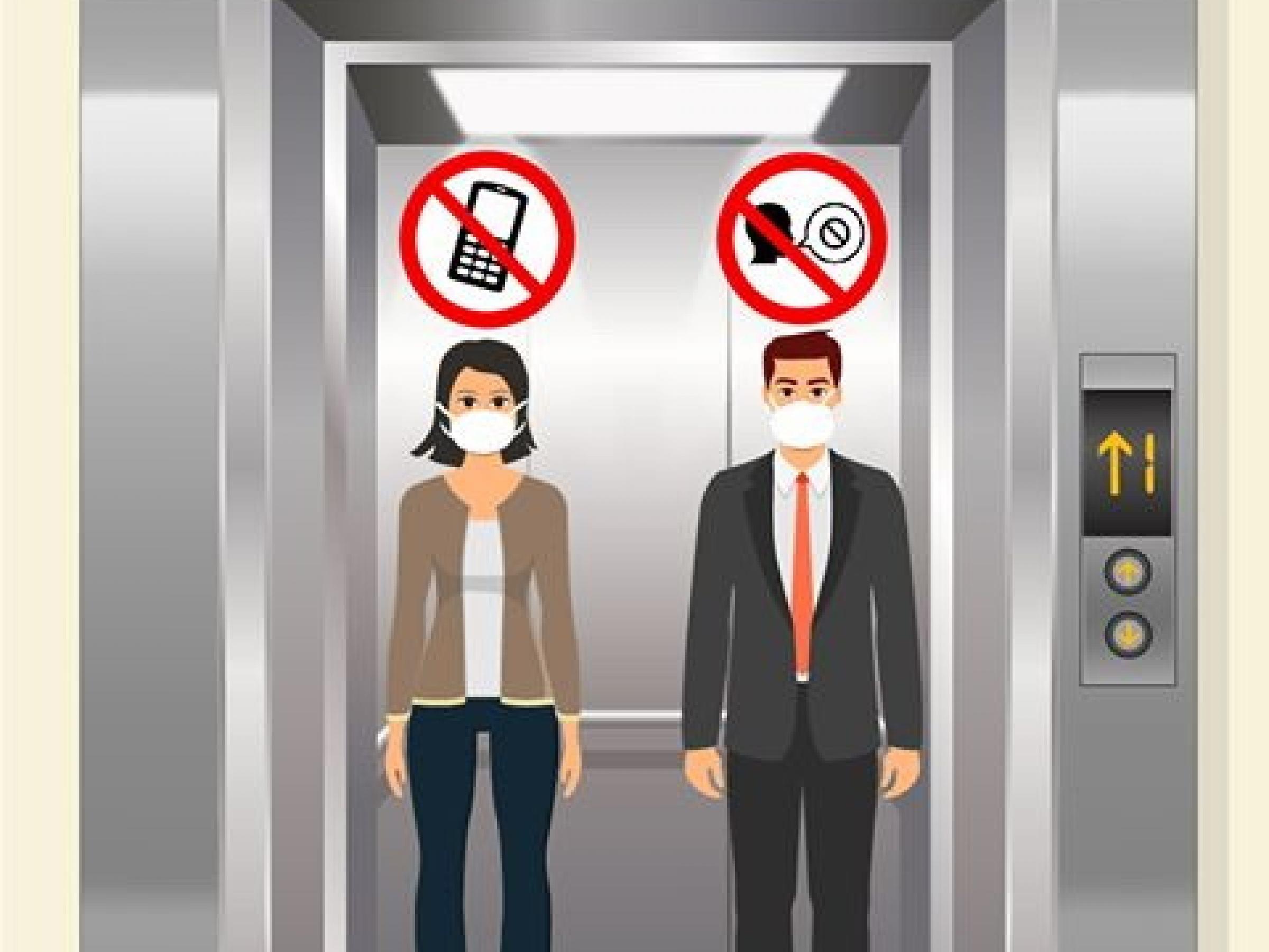 ใช้ลิฟต์และบันไดเลื่อนอย่างไร ไม่เสี่ยงต่อ COVID-19