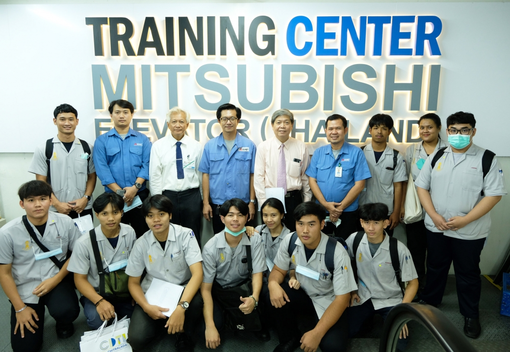 Chitralada Technology Institute visits Training Center